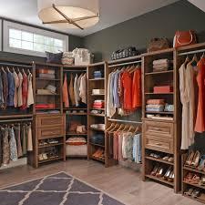 closetmaid impressions 25 in w walnut deluxe closet kit 30882 com