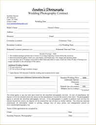 Example Of Catering Contract Wedding Contract Template Planner Agreement Catering Example