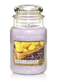 <b>ароматическая свеча</b> yankee candle <b>lemon lavender</b> / лимон и ...