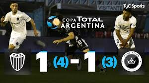 Estudiantes (BA) 1 (4) - 1 (3) Real Pilar | 8vos de Final | Copa Argentina  2019 - YouTube