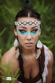 native american costume makeup idea