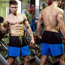 Sexy athletes in the gym gay