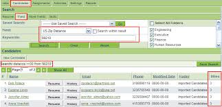 Resume Tracking Enchanting Searching By Distance In The Applicant Tracking System SmartWiki