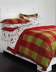 lord taylor buffalo plaid flannel duvet cover made in portugal hudson s bay