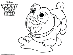 Bingo Puppy Dog Pals Coloring Pages Puppy Dog Coloring Page Dog And