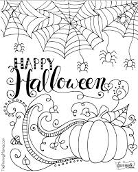 Coloriez pour halloween ce crâne, cette citrouille et cette tombe. Free Halloween Coloring Pages For Adults Kids Happiness Is Homemade
