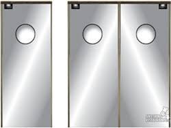 swinging kitchen door. Kitchen Classic Restaurant Doors- Chase SC 5013 SS Swing Door Series Swinging