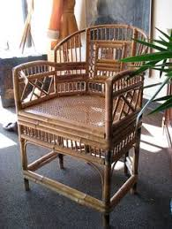 I Items Similar To Mid Century Vintage Hollywood Glam Bamboo Armchair For  Your Sun Room On Etsy