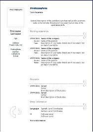 Resume Templates For Google Docs Inspiration Google Drive Resume Template Sample Templates Doc Go Cherrytextads