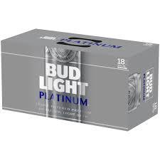 Bud Light Platinum 24 Pack Walmart Bud Light Platinum Beer 18 Pack 12 Fl Oz Cans Walmart Com