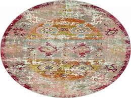home decorators collection faux sheepskin pink 8 ft round area rug from round rug 5 feet