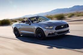 ford mustang 2016 convertible. 2016 Ford Mustang GT Convertible Performance Pack Front Three Quarter In