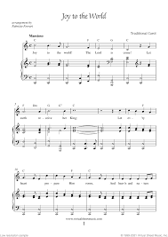 Get it as soon as wed, jun 16. Joy To The World Piano Sheet Music Easy With Lyrics Pdf