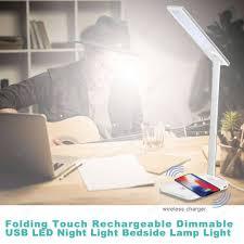 Tabel Led Bureaulamp Eye Beschermd Vouwen Dimbare Led Touch Desk