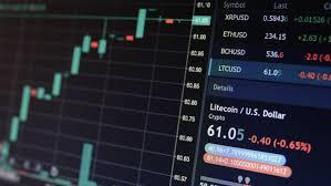 Online Stock Market Litecoin Ltc Stock Footage Video 100 Royalty Free 1017176695 Shutterstock
