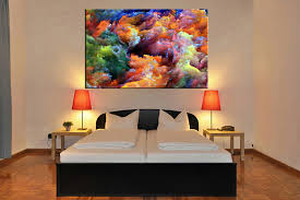 bedroom decor 1 piece wall art abstract colorful pictures abstract art abstract on large wall art for bedroom with 1 piece colorful artwork abstract canvas wall art