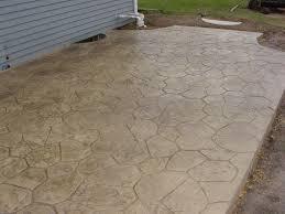 Stamped Concrete Kitchen Floor Best Stamped Concrete Patio