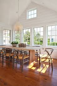 dining room beautiful wood flooring