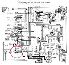 1950 ford wiring diagram 1950 image wiring diagram 1950 ford cluster wiring ford truck enthusiasts forums on 1950 ford wiring diagram