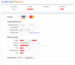 Payment Card Available Method Credit