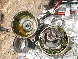 compresor de aire acondicionado de autos. reparación del embrague de compresor aire acondicionado autos