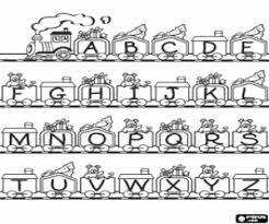 Kleurplaten Letter Of Karakter Alfabet Kleurplaat