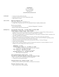Cover Letter Resume Example For Retail Resume Example For Retail