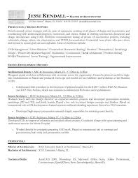 architecture resume examples berathen com professional architecture cover letter
