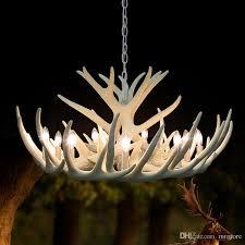 modern white antler chandelier novelty re for dining room europe resin chandeliers lighting for living room kitchen pendant light pendant lights for