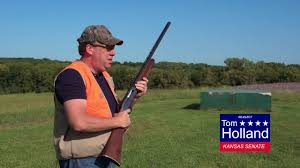 Tom holland (democratic party) is a member of the kansas state senate, representing district 3. Ks State Senator Tom Holland Taking Aim Youtube