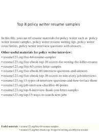 Medical Writer Resume Template For Writing Job ...
