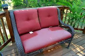 pictures gallery of elegant recover outdoor seat cushions with style the no sew way to reupholster glue outd
