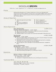 Resume Examples For Job Application New Resume Sample For Architect