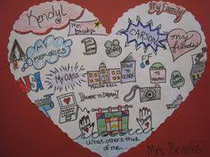 heart map lesson from scholastic writing workshop pinterest Heart Map For Writers Workshop heart map lesson from scholastic writing workshop pinterest heart map, writing ideas and school Writing Heart Map Printable