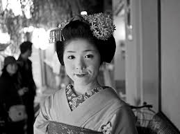 Geisha Culture in Kyoto  Japan  An Inside Look   Vogue Details about Japanese Geisha with Sensu Fan New Japan Fine Art Bag Sling  Purse Tote S or L PN