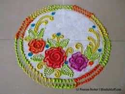Small Picture How to draw roses in rangoli Easy and small rangoli Innovative