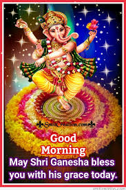 good morning  whatsapp status in hindi ganesh ji images