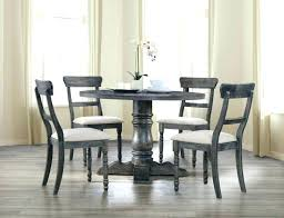 grey painted wood chairs dining table set and room 7 piece kitchen gray sets wooden with bench 5 weathered finish round good looking acm