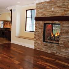 majestic marquis see thru fireplace brass residence