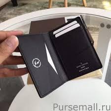 louis vuitton pocket organizer monogram eclipse wallet m61696