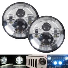 popular jeep jk wrangler wiring buy cheap jeep jk wrangler wiring pair h4 45w 7 12v led headlight hi lo for 2007 2015 jeep