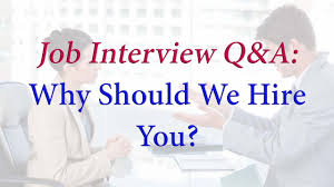 why should we hire you sample answer ✔ why should we hire you sample answer ✔️