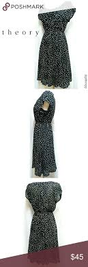 Theory Polka Dot Dress Size P In Great Pre Owned Condition