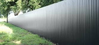 metal privacy fence panels canada metal privacy fence73 metal