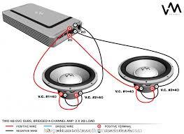 Speaker Wire Chart Nice Dual 4 Wiring Diagram Beautiful