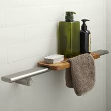 Bathroom Shelf Kohler Choreograph 24 W Bathroom Shelf Reviews Wayfair