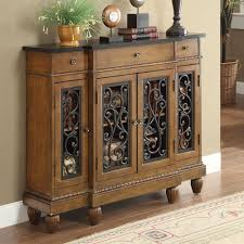 Hallway Console Cabinet Vidi Accent Hallway Console Sofa Table Chest Metal Decor Door