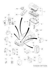 Fuse relay control unit 5620 chevrolet lacetti optra lacetti