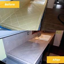 laminate countertop resurfacing before after tile resurface laminate countertop resurfacing to look like granite laminate countertop