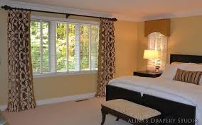 easy sew lined window treatments with bedroom curtains and ds interalle com